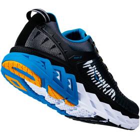 Hoka One One M's Arahi 2 Running Shoes Black/Charcoal Gray